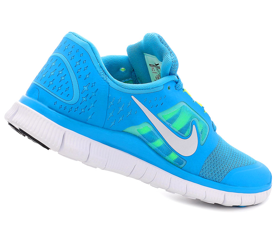 Кроссовки Nike Free Run +3 5.0 Blue/Lime