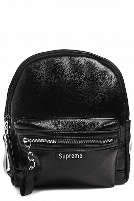 Рюкзак Supreme 2074008035 Leather Mono Black
