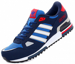 Кроссовки Adidas ZX 750 Blue/White/Red