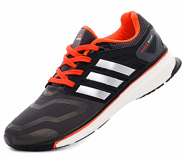 Кроссовки Adidas Energy Boost 2 Dark/Grey/Orange