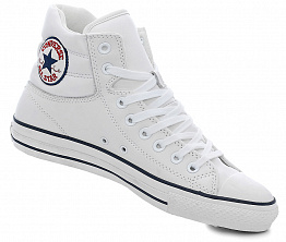 Кеды Converse All Star Tall Leather White