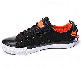 Кеды Converse All Star Ox Unisex Black / Orange