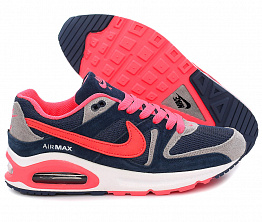Кроссовки Nike Air Max 90 Breathe Dark Blue/Coral