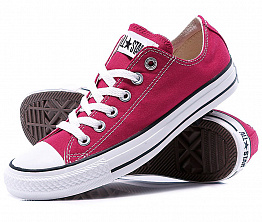 Кеды Converse All Star Ox Unisex Vinous