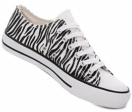 Кеды Shirley 880042 Unisex White / Black