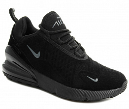 Кроссовки Nike Air Max 270 Suede Unisex Black