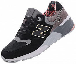 Кроссовки NBseries 999 Suede U Black