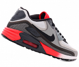 Кроссовки Nike AIR MAX 90 LUNAR C3.0 Men's White/Grey/Red