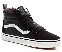 Кеды Vans Old Skool High Men`s Black / White