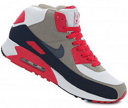 Кроссовки Nike AIR MAX 90 Tall White / Red / Black