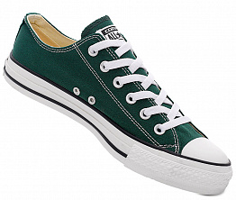 Кеды Converse All Star Ox Unisex Green / White