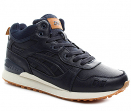 Кроссовки Asics Gel Lyte 3 Tall Leather Dark Blue
