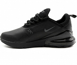 Кроссовки Nike Air Max 270 Leather Black