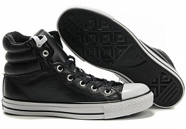Кеды Converse All Star Tall Leather Black