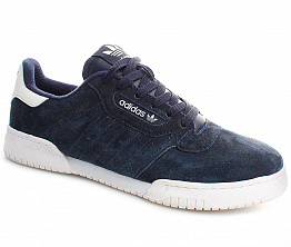Кеды Adidas Originals 54211 Suede Dark Blue / White