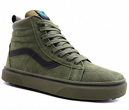 Кеды Vans Old Skool Winter High Men`s Khaki