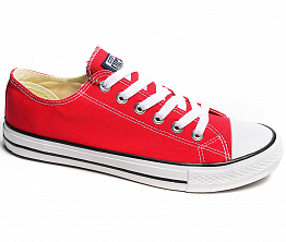 Кеды Converse All Star Ox Unisex Red / White