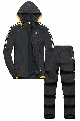 Костюм утепленный Adidas Predator Anthracite/Yellow