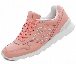 Кроссовки NBseries 996 Leather W Light Pink