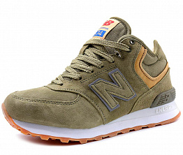 Кроссовки NBseries 574 Tall Suede / Wool Men`s Khaki