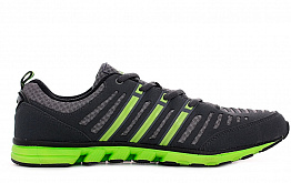 Кроссовки Adidas 1653 Dark Grey / Green