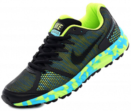 Кроссовки Nike Air Pegasus 28 Black/Blue/Lime