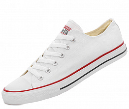 Кеды Converse All Star Ox Unisex White / White