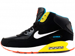 Кроссовки Nike AIR MAX 90 Tall Nubuck Black / Yellow