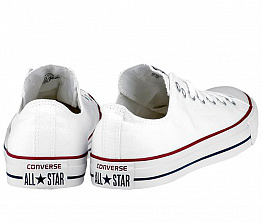 Кеды Converse All Star Ox Unisex White