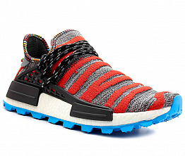 Кроссовки Adidas Pharrell Williams SOLARHU NMD Gray / Red