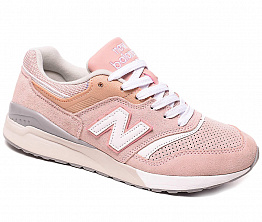 Кроссовки NBseries 997 Suede W Light Pink