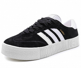 Кеды Adidas Originals Samba Rose Unisex Black / White