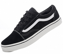 Кеды Vans Old Skool Suede Black / White