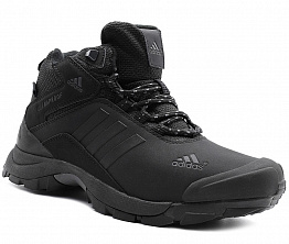Кроссовки Adidas Terrex Climaproof Nubuck / Natural Fur Black