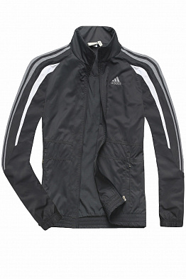 Олимпийка Adidas 20016 Anthracite / White