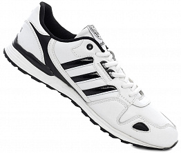 Кроссовки Adidas ZX Leather White/Black